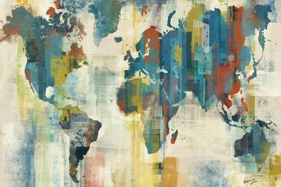 World Map-Eric Yang-Art Print