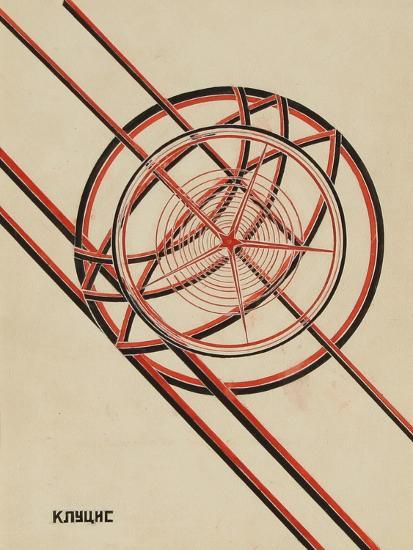 World October-Gustav Klutsis-Giclee Print