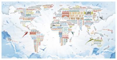 World of Life- Mikael B. Design-Giclee Print