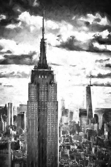 World of Skyscrapers-Philippe Hugonnard-Giclee Print
