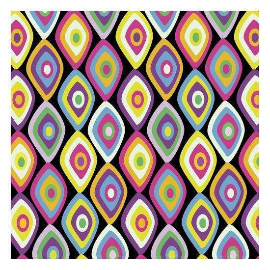 World Pattern 2-Lauren Gibbons-Art Print