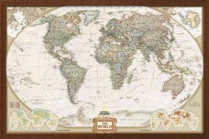 World Political Map, Executive Style