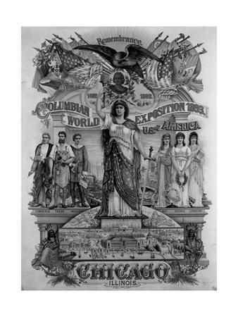 World's Columbian Exposition Poster--Giclee Print