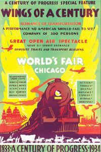 World's Fair, Chicago, Wings of a Century, c.1934