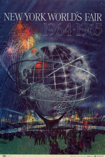 World's Fair: New York World's Fair 1964-1965--Premium Giclee Print