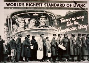 World's Highest Standard of Living...', 1937