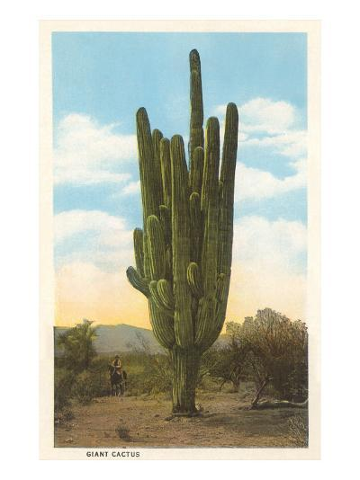 World's Largest Saguaro Cactus--Art Print