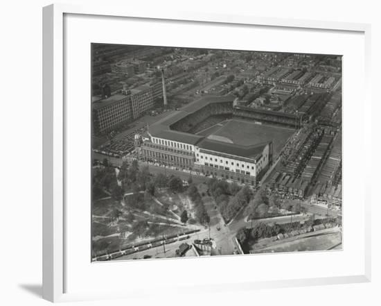 World Series Opening Game, Shibe Park, 1st October 1930--Framed Photographic Print