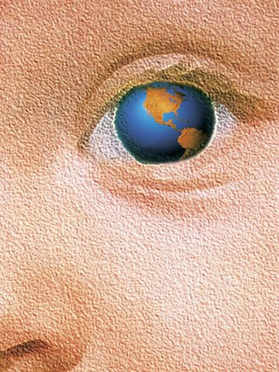 World Through the Eyes of a Child-Greg Smith-Photographic Print