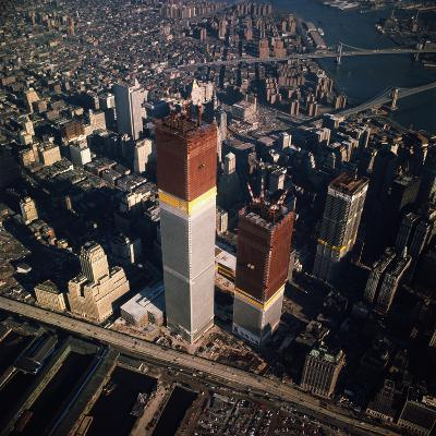 World Trade Center as Seen from the Sky--Photographic Print
