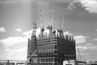 World Trade Center under Construction-Philip Gendreau-Photographic Print
