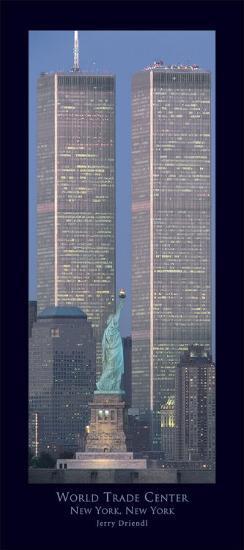 World Trade Center-Jerry Driendl-Art Print