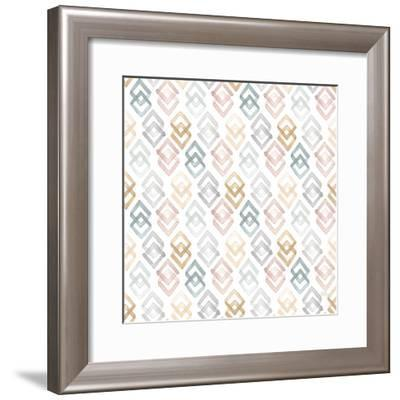 World Traveler Pattern X-Laura Marshall-Framed Art Print