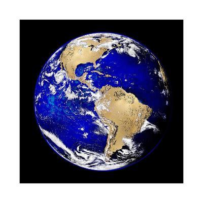 World Turning V-Russell Brennan-Giclee Print