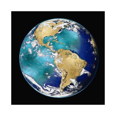 World Turning VI-Russell Brennan-Giclee Print