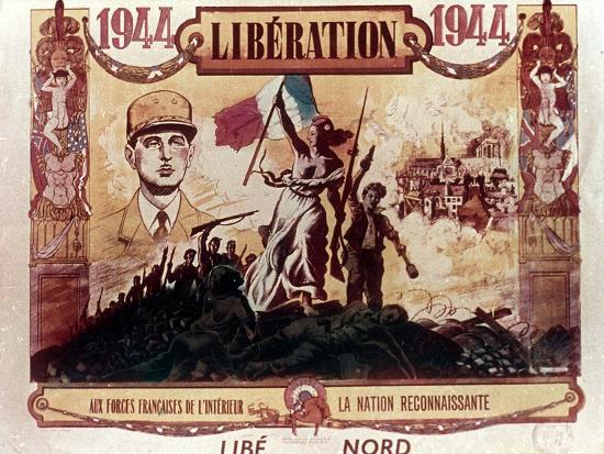 World War 2: Liberation of France, 1944--Giclee Print