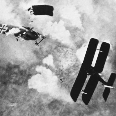 World War I: Aerial Combat--Photographic Print