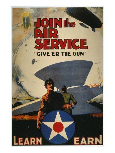 World War I: Air Service--Giclee Print