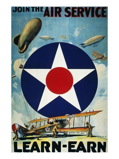 World War I: Air Service.--Giclee Print