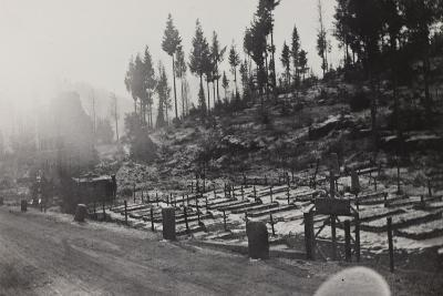 World War I: Cemetery of the Twelfth Division--Photographic Print