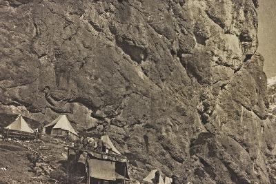 World War I: Encampment Alpine--Photographic Print