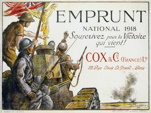 World War I: French Poster