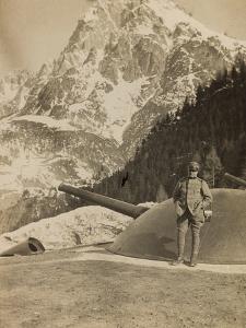 World War I: Italian Soldier on Antelao