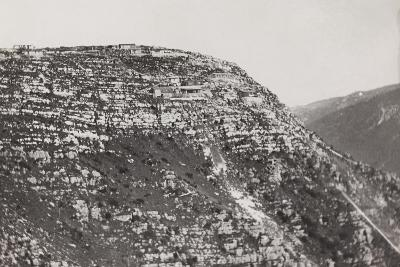 World War I: Military Post on the Mountains of Veneto--Photographic Print