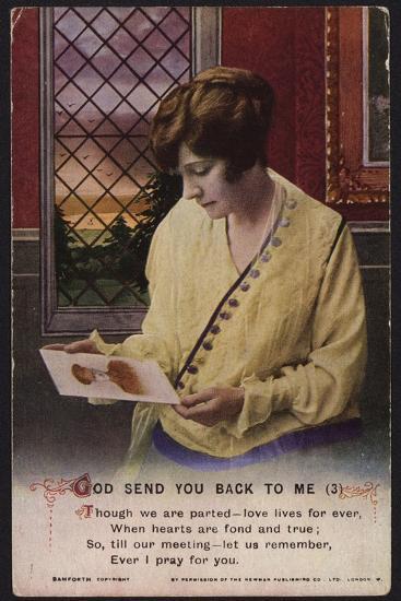 World War I Postcard.--Photographic Print