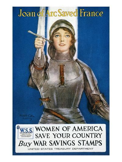 World War I: Savings Stamp--Giclee Print