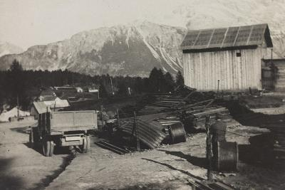 World War I: Storehouse of the Genius in Pocol--Photographic Print