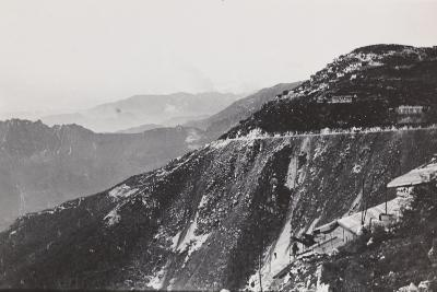 World War I: Trail from Mount Novegno to Mount Summano--Photographic Print