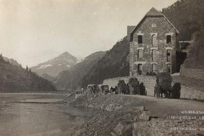 World War I: Transfer of Italian Troops to the Col Di Lana--Photographic Print
