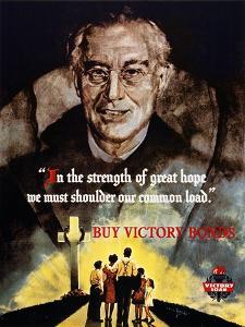 World War Ii: Bond Poster.