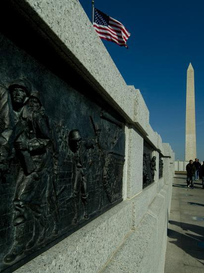 World War II Memorial-Todd Gipstein-Photographic Print