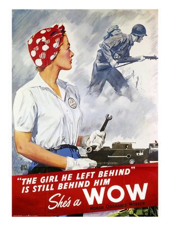 World War Ii Poster--Premium Giclee Print