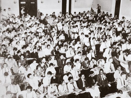 World Youth Congress, Vassar College, Poughkeepsie, New York, USA, 16-24 August 1938-Unknown-Photographic Print