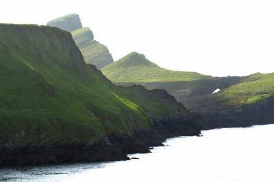 Worm's Head, Gower, S.Wales, UK--Photographic Print