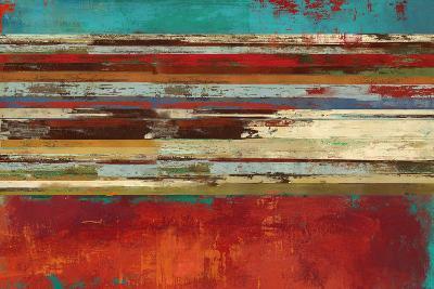 Worn Red-Sloane Addison ?-Art Print