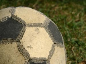 Worn Soccer Ball