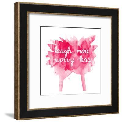 Worry Less-Jelena Matic-Framed Art Print