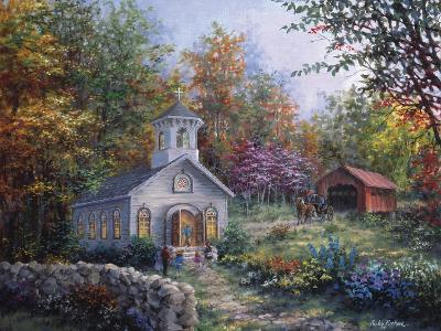 Worship in the Country-Nicky Boehme-Giclee Print
