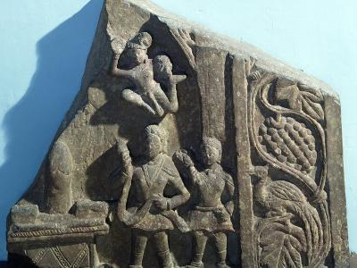Worshipers Bearing Offerings to Shiva Linga, Mathura, India, Kushan Empire--Photographic Print