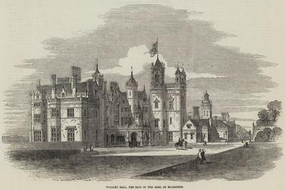 Worsley Hall, the Seat of the Earl of Ellesmere-Samuel Read-Giclee Print