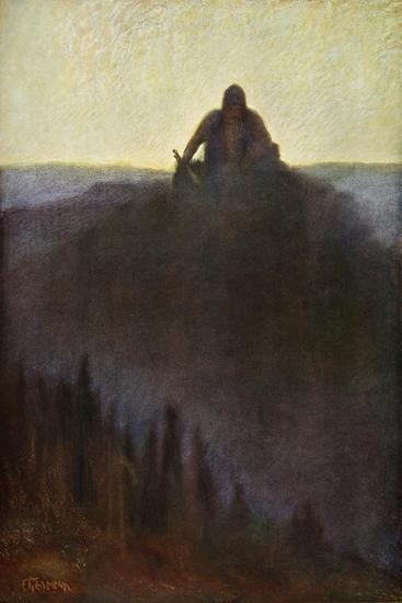 'Wotan Waits in Valhalla for the End with his Broken Spear', 1906-Unknown-Giclee Print