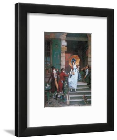 Would You Do Us the Honor?-Pierre Outin-Framed Art Print