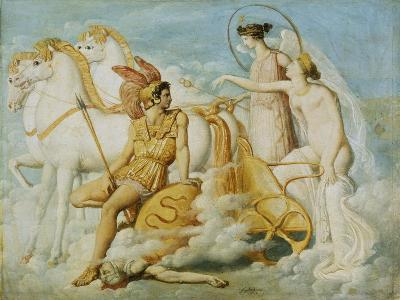 Wounded Venus-Jean-Auguste-Dominique Ingres-Giclee Print