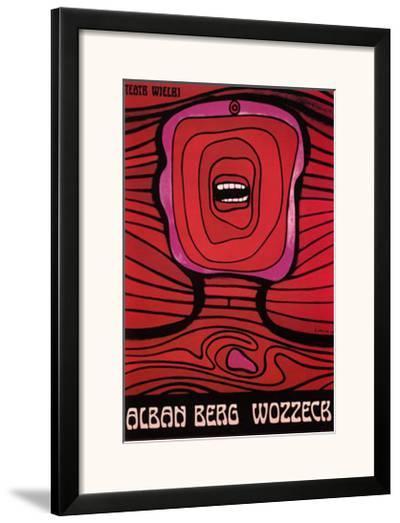 Wozzek, 1964-Jan Lenica-Framed Art Print