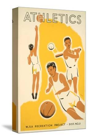 Wpa Athletics Poster