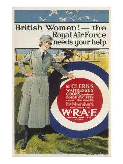Wraf Recruitment Poster--Giclee Print